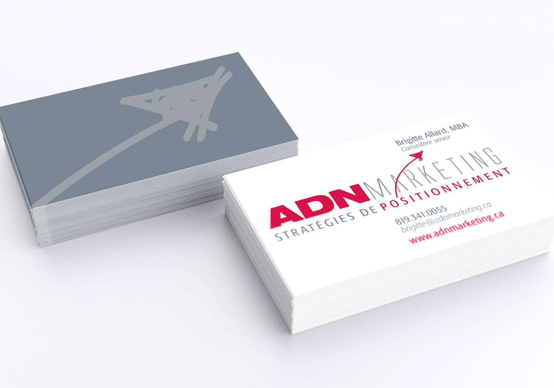 Carte d'affaires de ADM Marketing