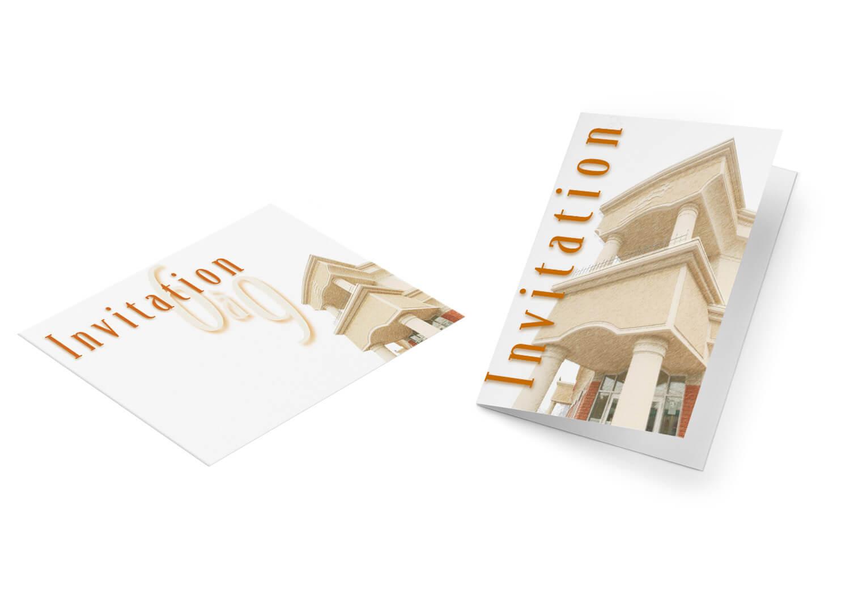 Carton d'invitation «6à9» pour la soirée d'inauguration des nouveaux locaux de Alary Sport