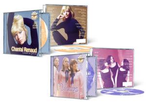 Design des emballages du CD des Filles Jeunesse de Disques Mérite