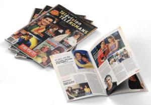 Magasines Télévision & Téléromans Édition spéciale publiés par Écho Vedettes 1998.