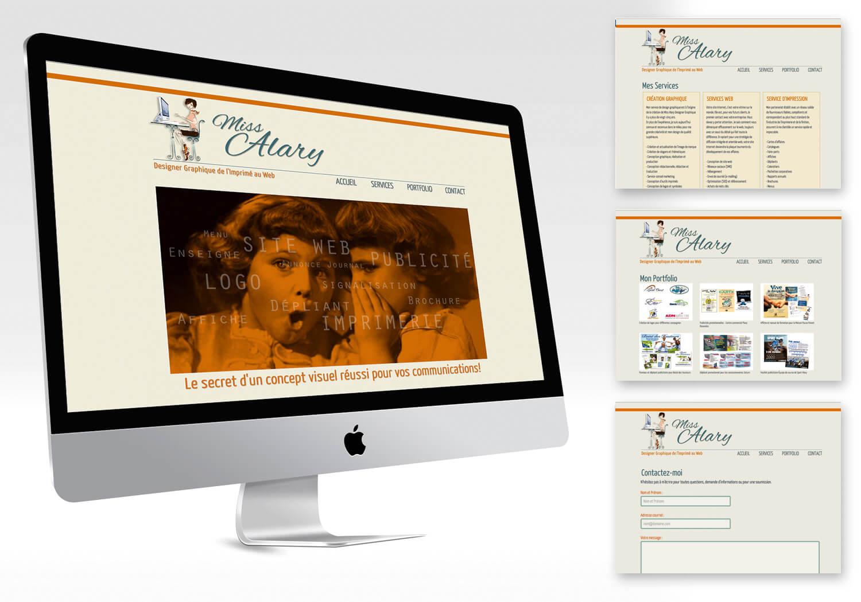 site web de Miss alary