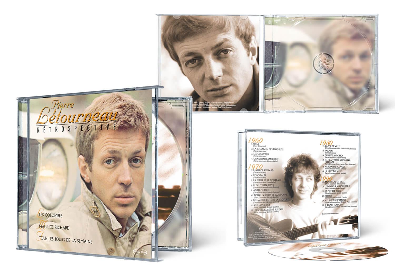 Emballage du CD de Pierre Létourneau